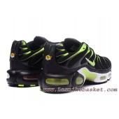 Soldes nike tn noir et vert destockage 5100